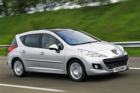 peugeot sedan 207 peugeot 207 sw 2007 car review honest john