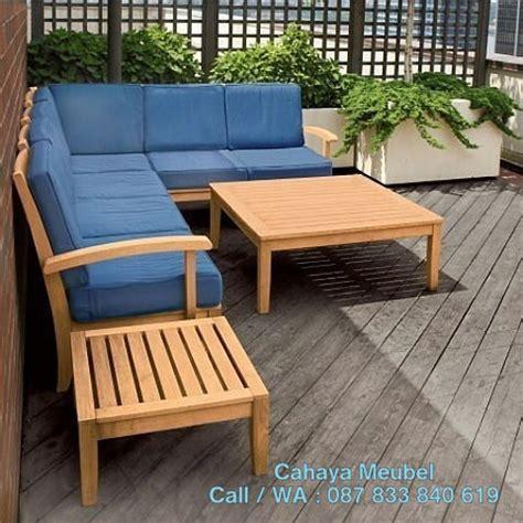 Kursi Kayu Taman set kursi taman kayu cahaya mebel jepara