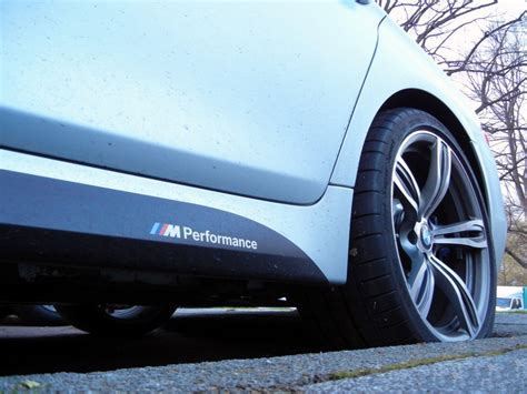 Bmw Xdrive Sticker by 2pcs M Performance Side Skirt Decals Vinyl Sticker For Bmw