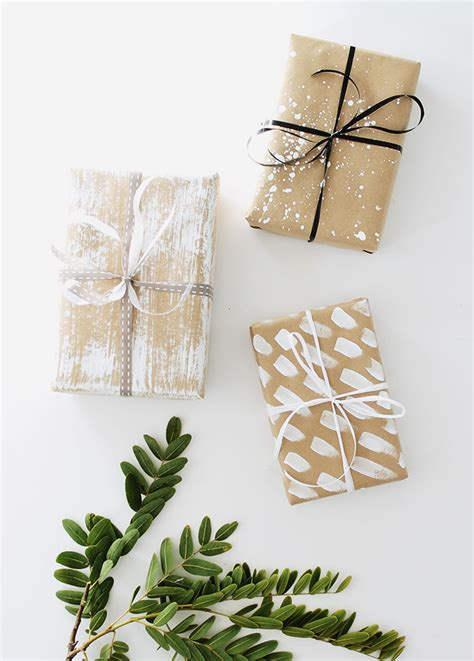 Handmade Gift Wrapping Ideas - four diy gift wrap ideas almost makes