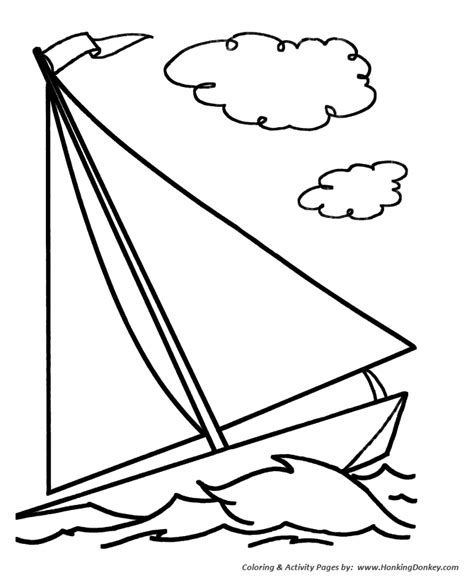simple shapes coloring pages free printable simple