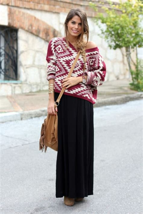 me a maxi skirt in the fall fall winter wear