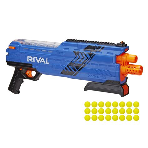 The New Rival nerf rival khaos the new mxvl 4000 blaster or blue