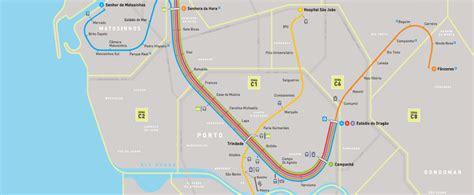 metro porto portogallo metro de oporto lineas mapas planos precios actualizados