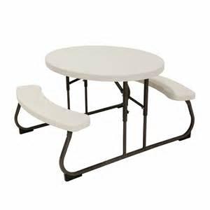 Lifetime Folding Picnic Table Lifetime Oval Picnic Table Bj S Wholesale Club
