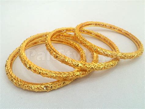 4 Gold Plated Kada Bangles Set Price in Pakistan (M008463)   Check Prices, Specs & Reviews