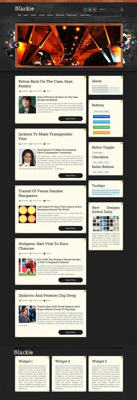 wordpress grid layout free grid layout blog wp theme