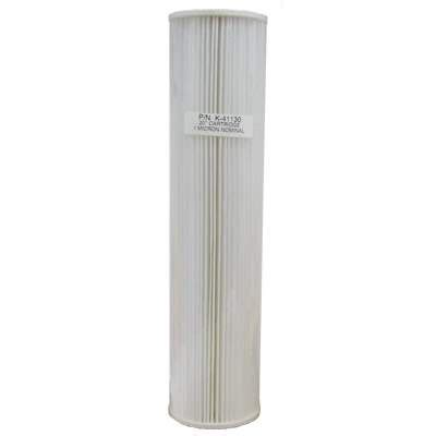 Filter Big Pp Sediment 20inch Filter Air Cartridge Big Berkualitas unicel k 40630 b 20 quot x4 5 quot big blue pleated polypropylene 10 micron sediment filter