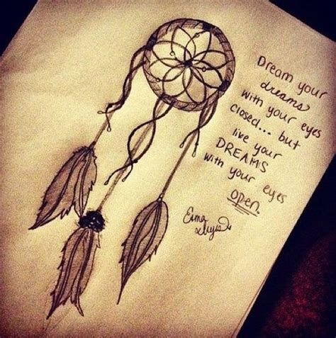 dreamcatcher tattoo with words dreamers theafricangirl