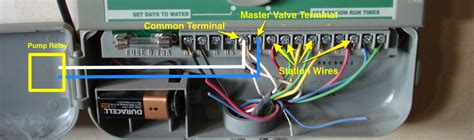sprinkler start relay wiring diagram sprinkler get