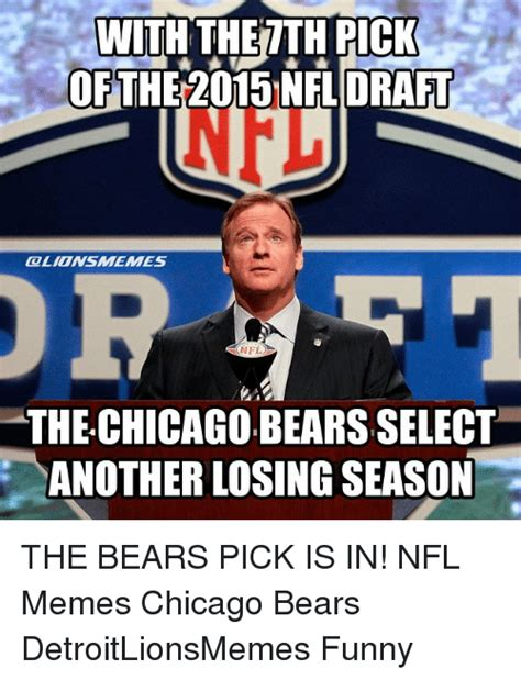 Chicago Bears Memes - funny memes nfl and nfl draft memes of 2016 on sizzle