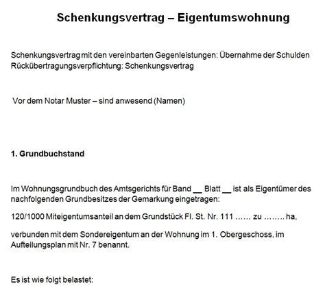 Muster Schenkungsvertrag Schweiz Schenkungsvertrag Muster Kostenlos Comdirect Hotline