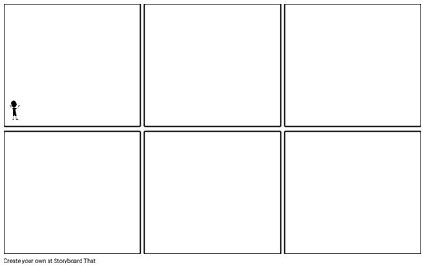 picture template blank 6 panel storyboard template storyboard by edwardallen