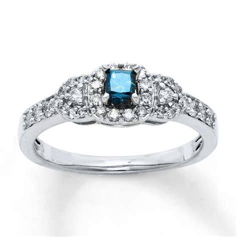 Blue Color Moissanite 3 89 Ct 89 best beautiful rings images on beautiful