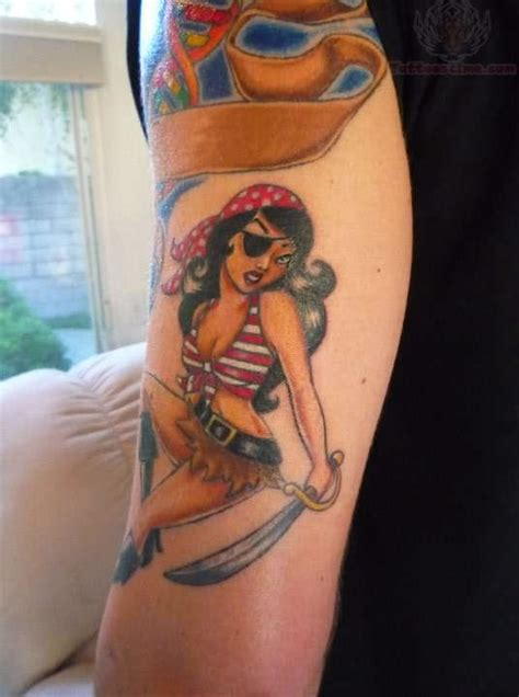 pirate girl tattoo pirate images designs