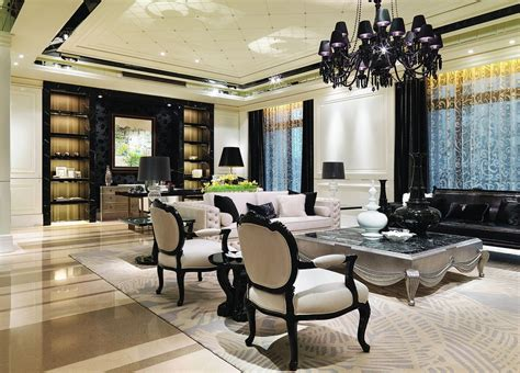 Neoclassical Living Room by Neoclassical Living Room Design Decoration