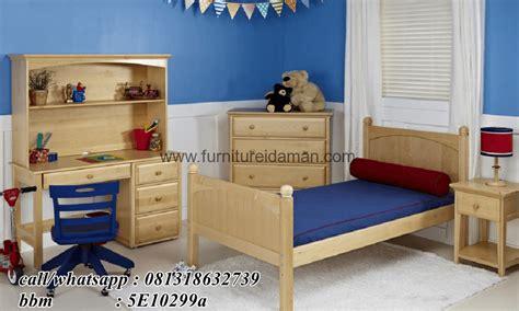 Set Kamar Bayi Tempat Tidur Bayi Ranjang Kayu Jati set tempat tidur anak minimalis simple ska 05 furniture idaman furniture idaman
