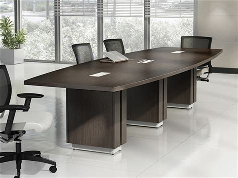 Zira Conference Table Global Zira Series 10 Boat Shaped Conference Table Z48120be