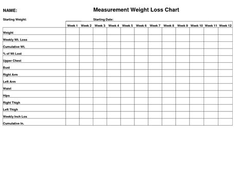 hcg pounds inches easy measuring for tracking all the inches you