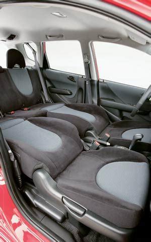 honda fit seat comfort 2007 honda fit first look review motor trend