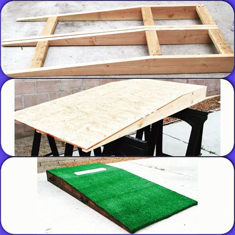 diy pit cing diy portable pitching mound wood projects diy and crafts