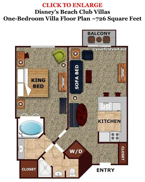 disney vacation club floor plans review disney s beach club villas the walt disney world