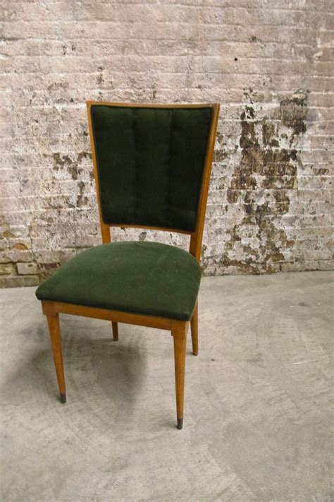 Green Velvet Dining Chairs Upholstered Seating Primate Props