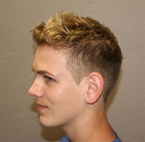 perm for men longer in front a little shorter on sides mens services and boys haircuts fades faux hawk