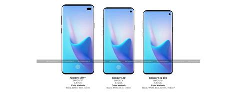 Samsung Galaxy S10 Battery Size by Compareraja Exclusive Samsung Galaxy S10 Series Details Revealed Position Display