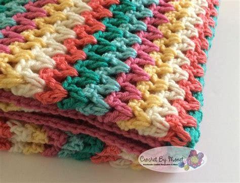 crochet pattern v stitch baby blanket 65 best images about v stitch video on pinterest free