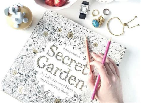 secret garden coloring book kinokuniya who said colouring books are only for children world