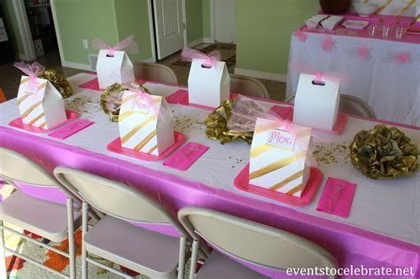 pink and gold table decorations pink and gold decorations