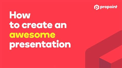 How To Create An Awesome Presentation Awesome Presentation