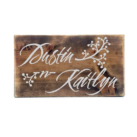 personalized wood signs home decor rustic personalized wood sign primitive home decor custom