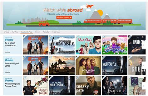 amazon canada you can now stream amazon prime video original content in