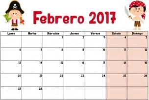 Calendario De Enero 2017 Febrero 2017 Calendario Escolar 2016 2017 Para Imprimir