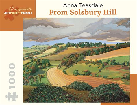 anna teasdale from solsbury hill 1000 piece jigsaw puzzle