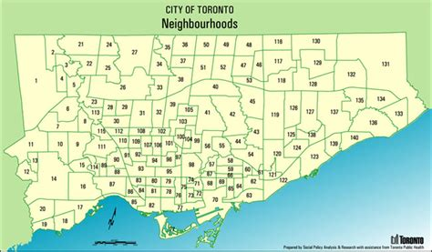 toronto districts 70 neighbourhoods in toronto ontario toronto s 140 neighbourhoods in aphabetical order and mapped
