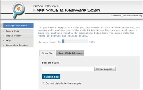tutorial internet lenta pode ser malware novirusthanks free virus malware scan download