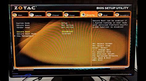 reset bios zotac zbox test zotac zbox pico pi330 le pc parfait pour un media