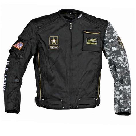biker safety jackets joe rocket u s army alpha motorcycle riding jacket black