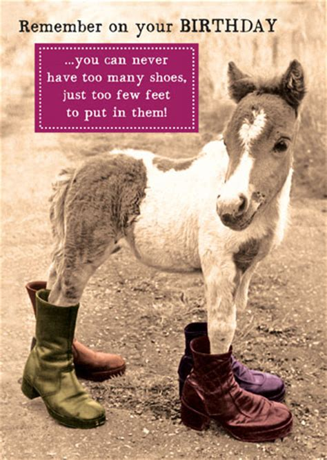 Best Gifts For Wife 2016 by Birthday Horse Shoes Cards Galore