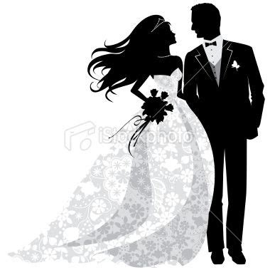 Bride And Groom Free Clipart Free Clipart Bride Silhouette