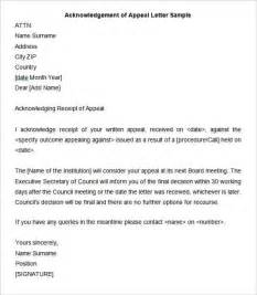 Council Tax Appeal Letter Template by 33 Acknowledgement Letter Templates Free Sles