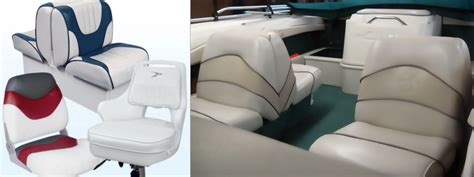 Boat Upholstery Shops by Vinyl Boat Seat Covers Kmishn