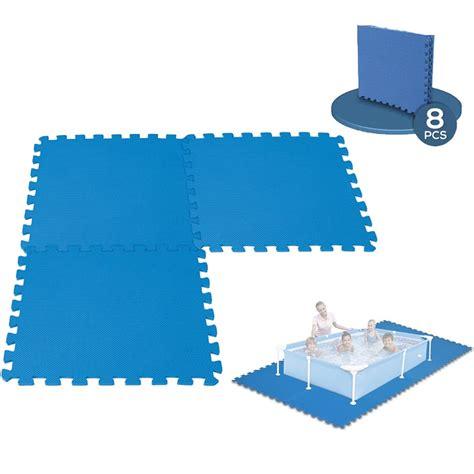 tapis de sol mousse 8 dalles en mousse tapis de sol piscine