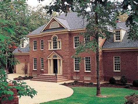 brick colonial house plans house plans brick colonial house plans