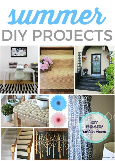 easy diy home projects easy summer diy projects