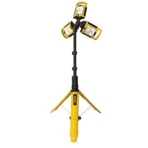 Led Work Light Home Depot by Stanley Fatmax Led Rechargeable Tri Pod Work Light Tpl45s