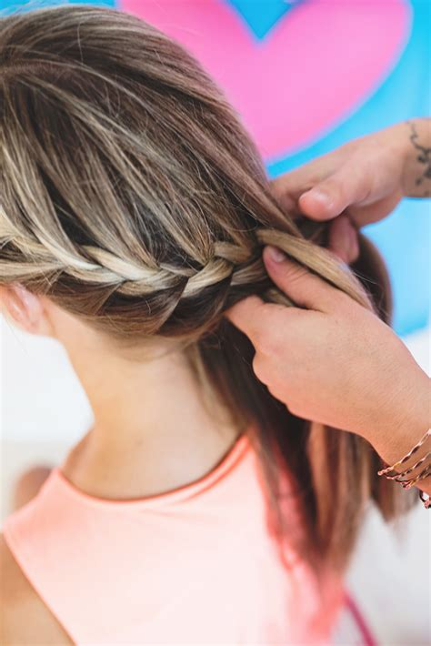 wrap around french side braid 2 party ready french braid updates a subtle revelry